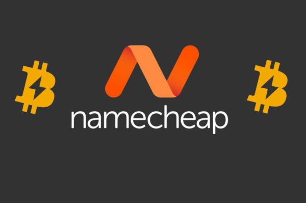 Namecheap ready to accept Bitcoin Lightning Network payments