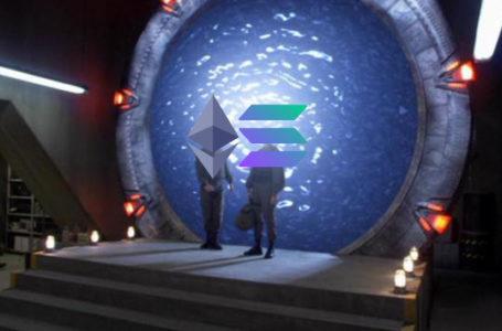 Launch of Wormhole bridge between Ethereum and Solana